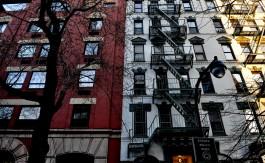 Apartment building.